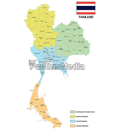 provinces and regions map of the