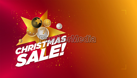merry christmas sale design