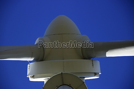 close up of the rotor blades