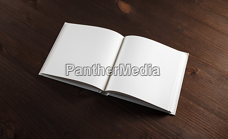book with blank pages