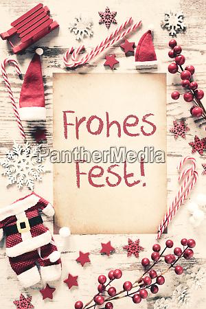 nostalgic christmas flat lay frohes fest