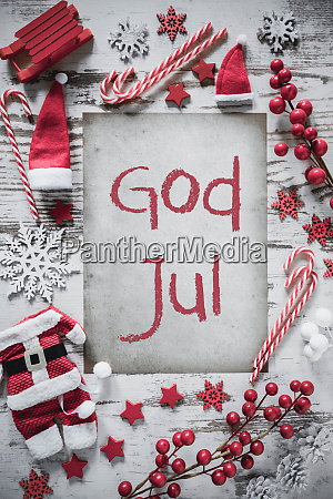 christmas flat lay vertical paper god