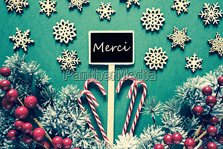 black christmas sign lights merci means