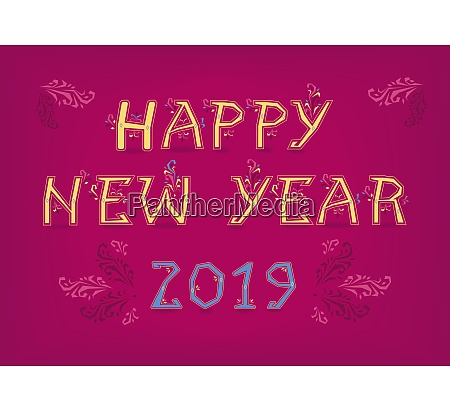 happy new year 2019 country folk