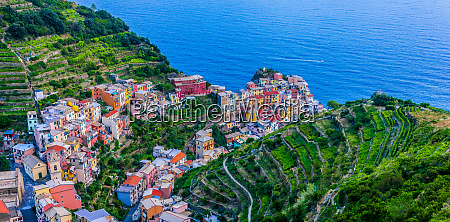 picturesque town of manarola liguria italy