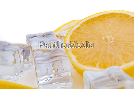 half a juicy bright lemon and