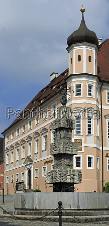 the old town of greding bavaria