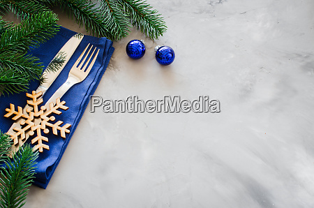 background for writing the christmas menu