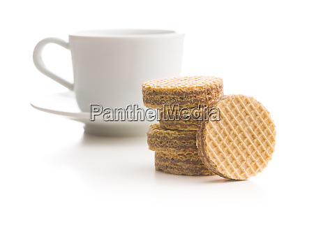 sweet chocolate wafer biscuits