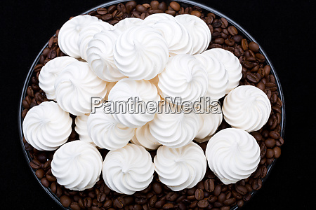 french vanilla meringue cookies and