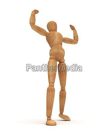 muscular mannequin