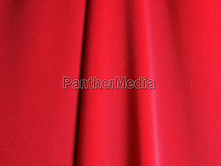 red curtain in theatre
