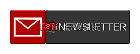 puzzle button grey red newsletter