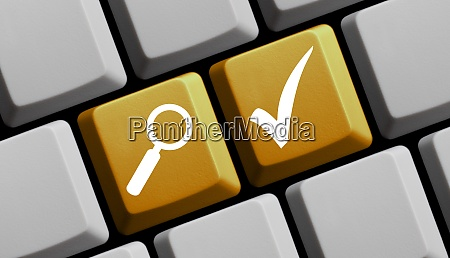 solutions online yellow keyboard