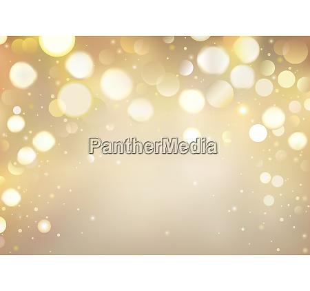 golden bokeh background with sparkling lights