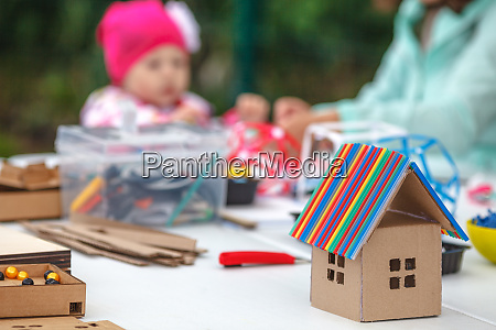 creative children play with craft cute