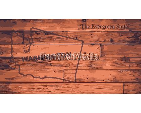 washington map brand