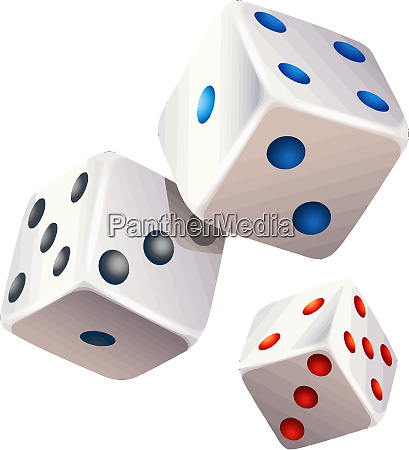 dices game betting gamble three luck