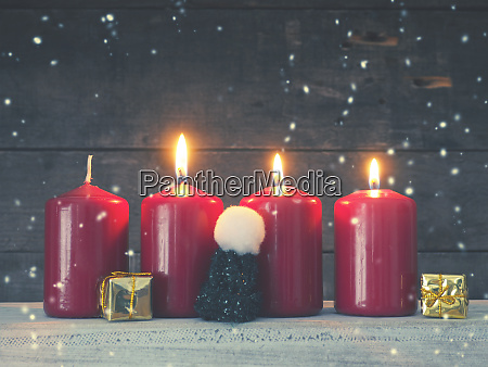 first advent christmas or advent background