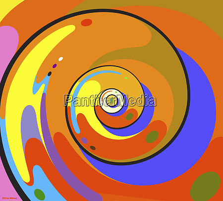 abstract whirlpool