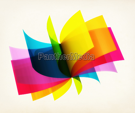 rotating colorful sheets