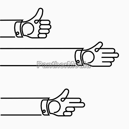 hands gesturing