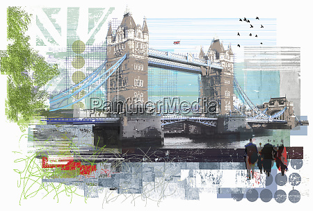 tower, bridge, , london - 26002080