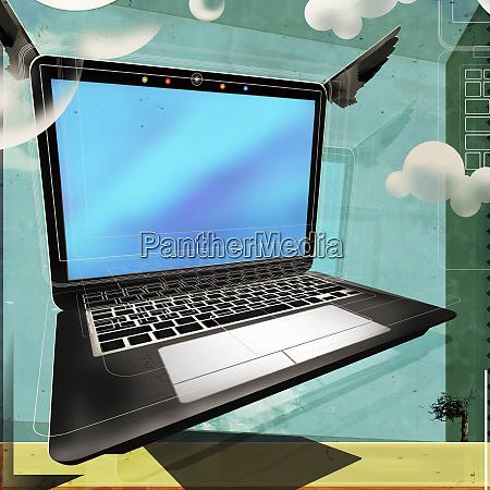 laptop cloud computing