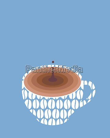 coffee dripping in cup