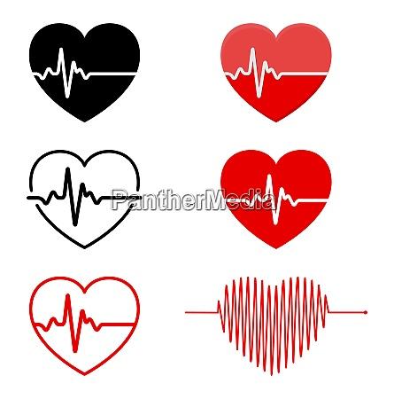 heart and ecg ekg