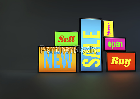 new save sell open sale and