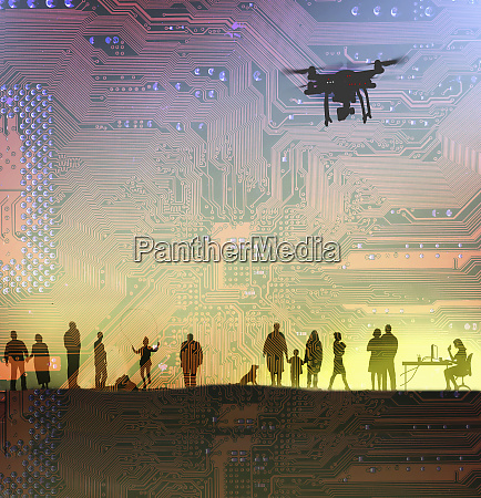 drones spying on peoples everyday lives