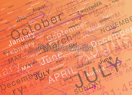 abstract backgrounds pattern of busy schedule