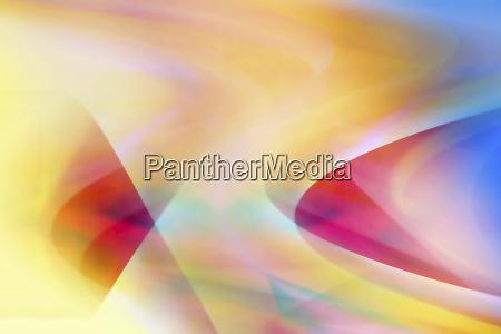wavy multicolor abstract