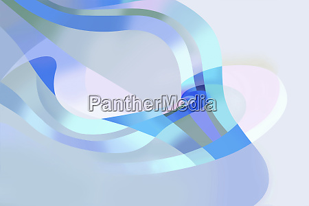 abstract backgrounds pattern of overlapping flowing