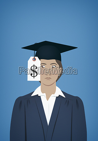 university graduate unhappy at cost of