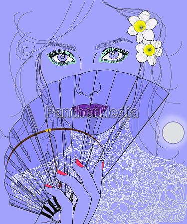 sagittarius woman zodiac sign with transparent