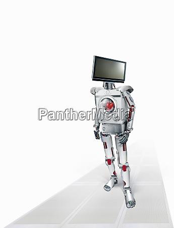 robot of intelligent domestic appliances