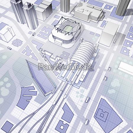 blueprint of urban planning