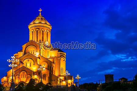 sameba the holy trinity cathedral of