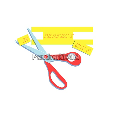 scissors, changing, imperfections, to, perfect - 26028117