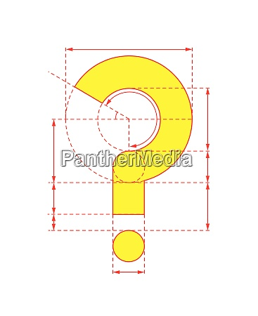yellow, question, mark, on, foldable, paper - 26028156
