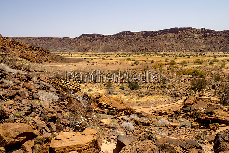 namibia damaraland twyfelfontein rock