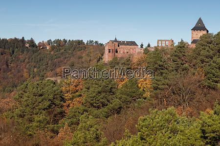 castle nideggen in the eifel