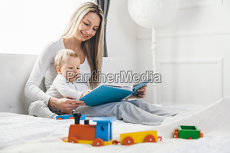 child education happy mother with her