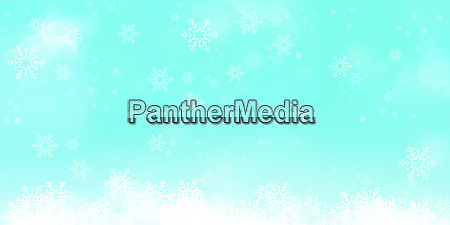 ice blue snowflakes background