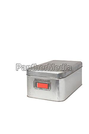 used stainless storage box