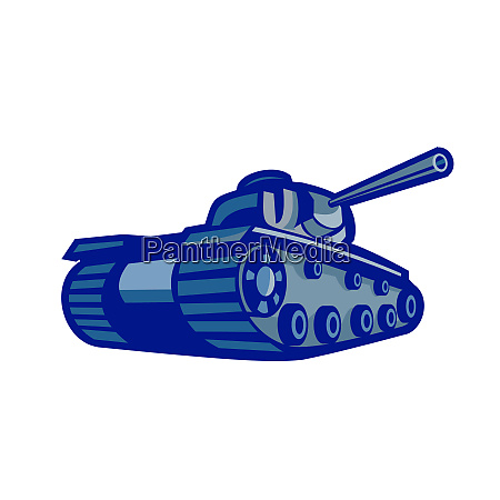 american world war two battle tank