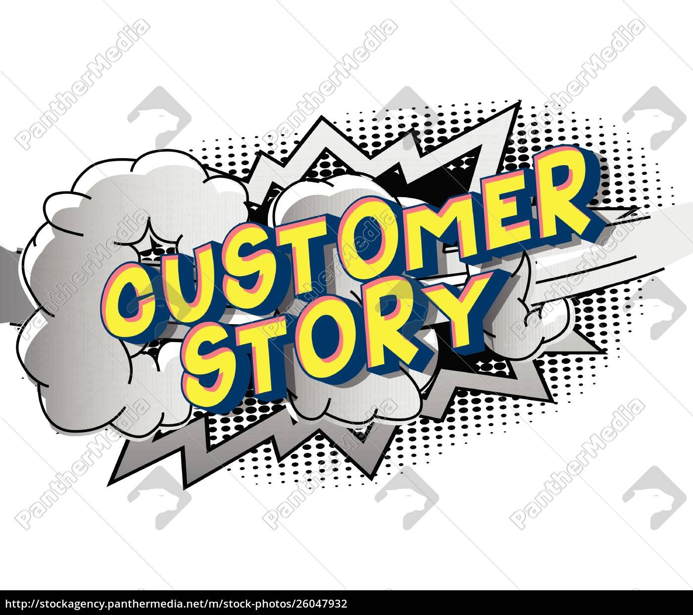 customer, story, -, comic, book, style - 26047932