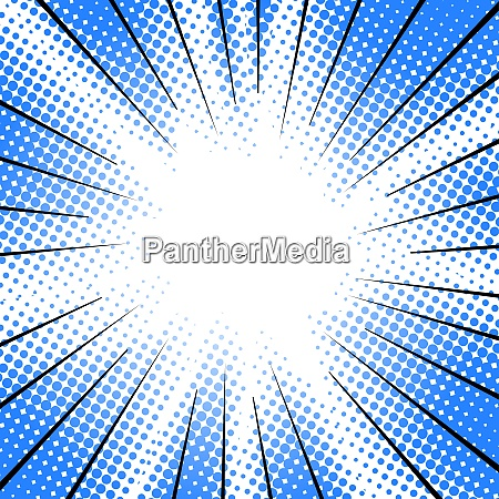 radial speed motion lines halftone effect